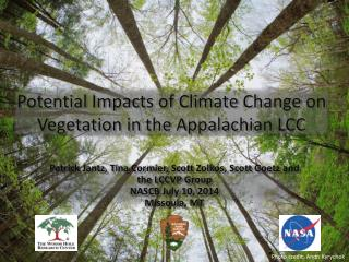 Potential Impacts of Climate Change on Vegetation in the Appalachian LCC