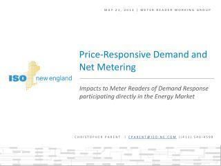 May 21, 2013 | meter reader working group