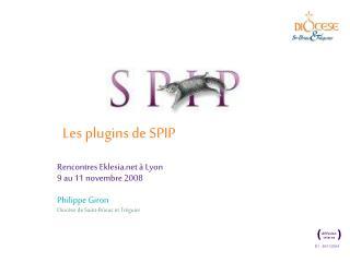 Les plugins de SPIP
