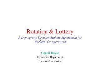 Rotation  Lottery