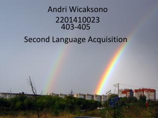 Andri Wicaksono 2201410023