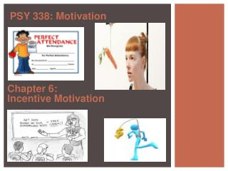 Chapter 6:  Incentive Motivation