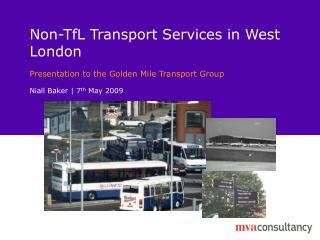 Non-TfL Transport Services in West London