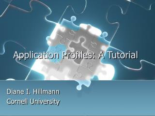 Application Profiles: A Tutorial