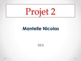 Projet 2