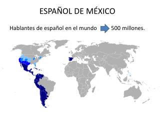 ESPA�OL DE M�XICO