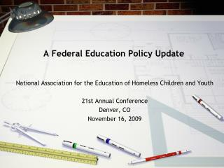 A Federal Education Policy Update