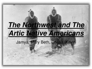 The Northwest and The Artic Native Americans