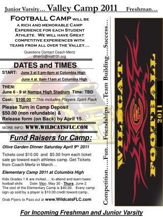START: June 3 at 5 pm-8pm at Columbia High June 4 at  8am-11am at Columbia High