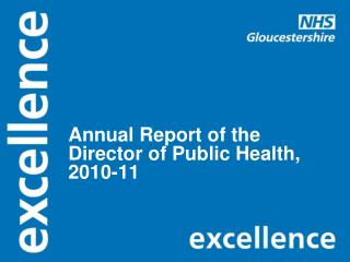 Annual Report of the Director of Public Health, 2010-11