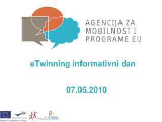 eTwinning informativni dan