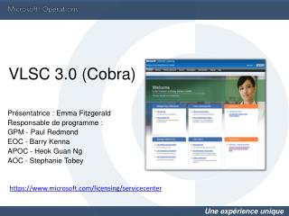 VLSC 3.0 Cobra