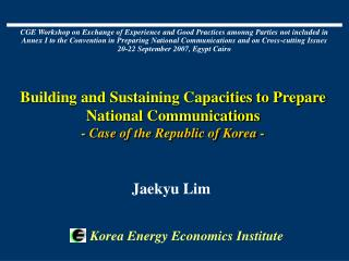 Korea Energy Economics Institute