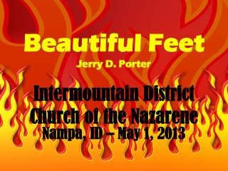 Beautiful Feet Jerry D. Porter