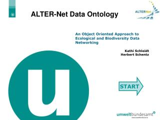 ALTER-Net Data Ontology