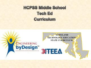 HCPSS Middle School Tech  Ed Curriculum
