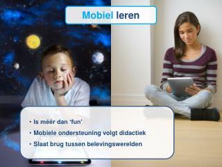 Mobiel  leren