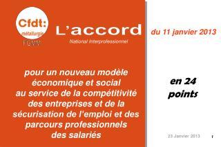 un texte ambitieux Pour l'emploi et les parcours professionnels  des salariés