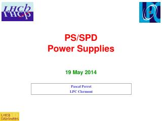 PS/SPD  Power Supplies