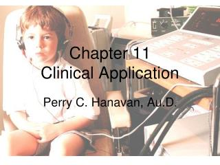 Chapter 11 Clinical Application