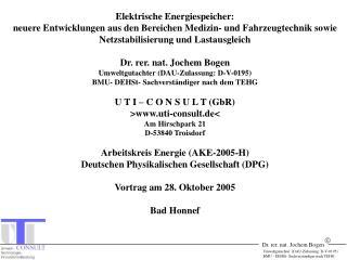 Umweltgutachter  DAU-Zulassung: D-V-0195 BMU - DEHSt- Sachverst ndiger nach TEHG