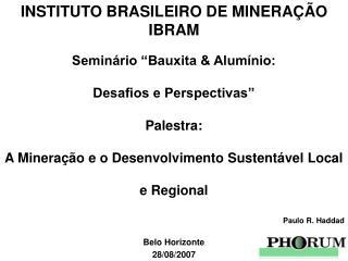 Belo Horizonte 28/08/2007