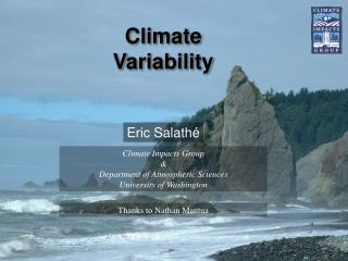 Climate Variability