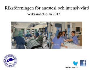 Riksföreningen för anestesi och intensivvård
