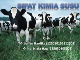 Oleh :  L utfan Hardika (125050105111001) Indi Niata Haq (125050105002)