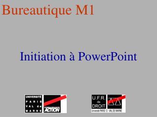 Initiation � PowerPoint