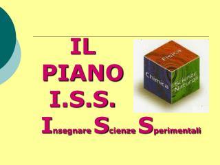 IL PIANO I.S.S.