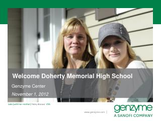 Welcome Doherty Memorial High School