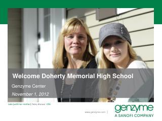 Welcome Doherty Memorial High School