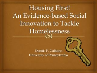 Housing First   An Evidence-based Social Innovation to Tackle Homelessness