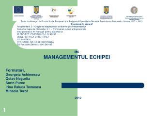 UNIVERSITATEA SPIRU HARET Facultatea de Management Financiar Contabil Constanţa