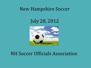 New Hampshire Soccer July 28, 2012