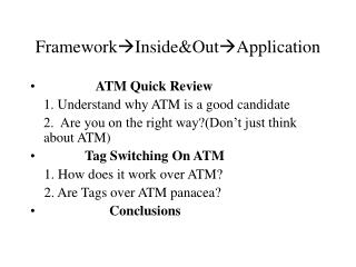 FrameworkInside&OutApplication