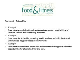 Community Action Plan Strategy A
