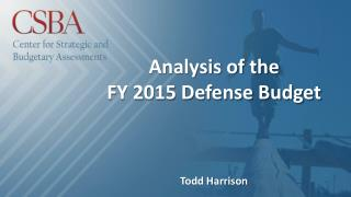 Analysis of the FY 2015 Defense Budget