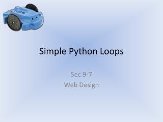 Simple Python Loops