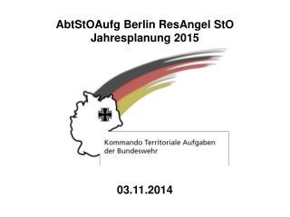 AbtStOAufg Berlin ResAngel StO Jahresplanung 2015