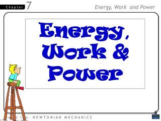 Energy , Work &  Power