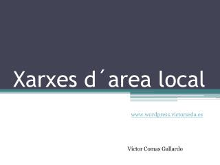 Xarxes d´area local