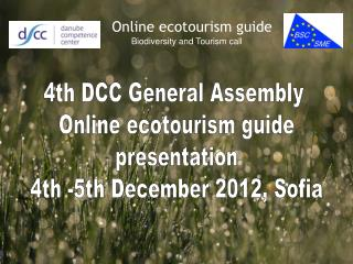 Online ecotourism guide