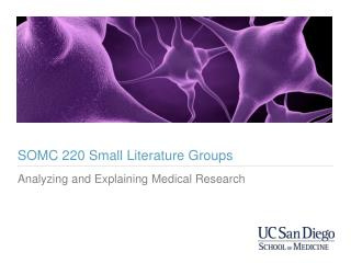 SOMC 220 Small Literature Groups