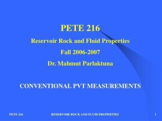 PETE 216