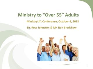 "Ministry to ""Over 55"" Adults"