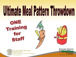 ONE Training  for Staff