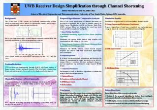 UWB Receiver Design Simplification through Channel Shortening