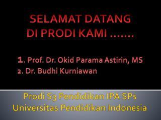Prodi  S3  Pendidikan  IPA SPs  Universitas Pendidikan  Indonesia